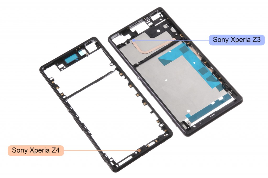 Sony Xperia Z4 front housing
