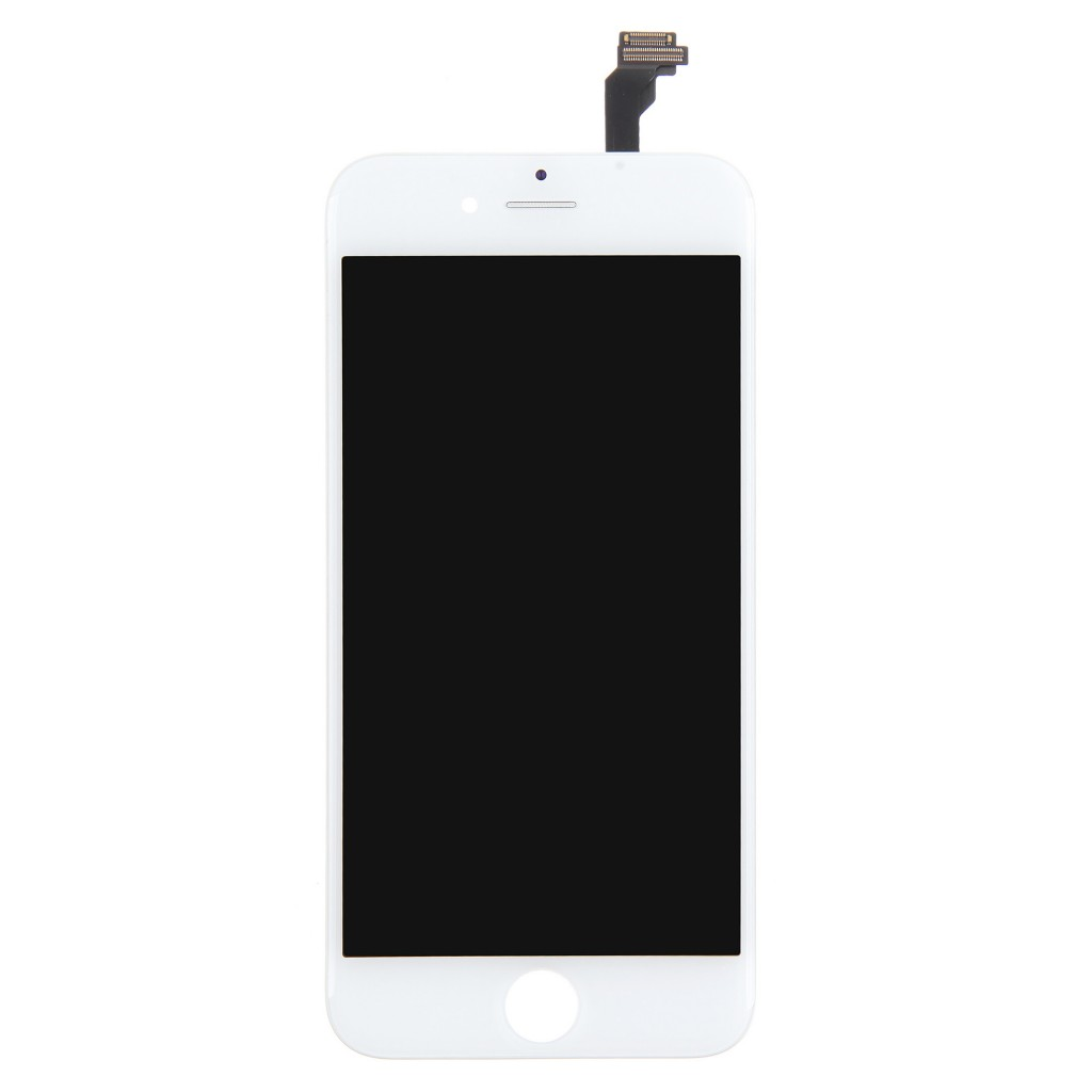 OEM Apple iPhone 6 LCD Screen and Digitizer Assembly with Frame - White (1)