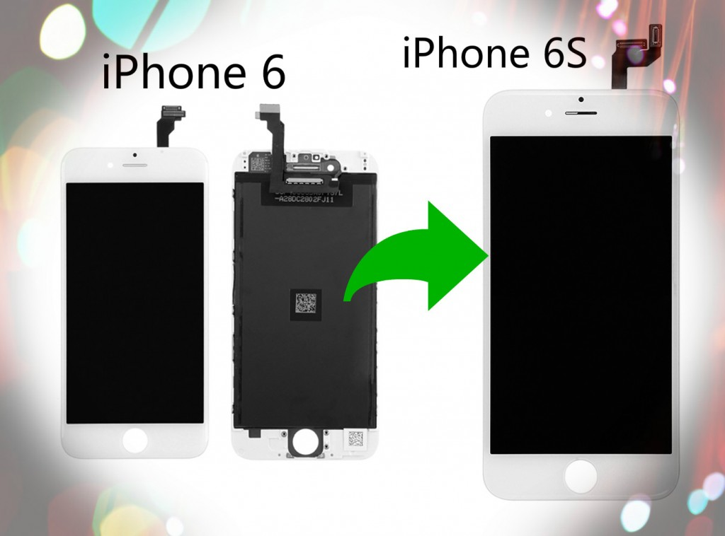 iPhone 6 to iPhone 6s