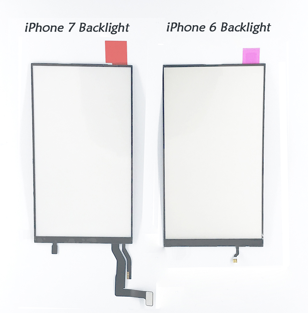 Backlight comparison