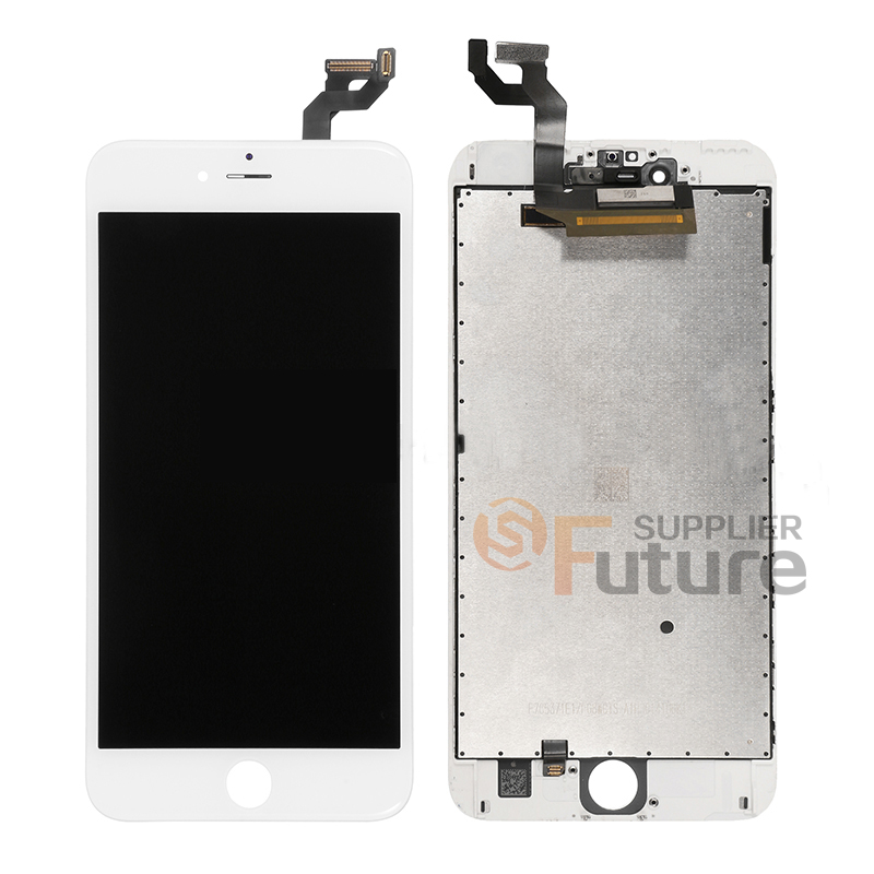 replacement_part_for_apple_iphone_6s_plus_lcd_screen_and_digitizer_assembly_with_frame_-_white_-_a_grade_5._