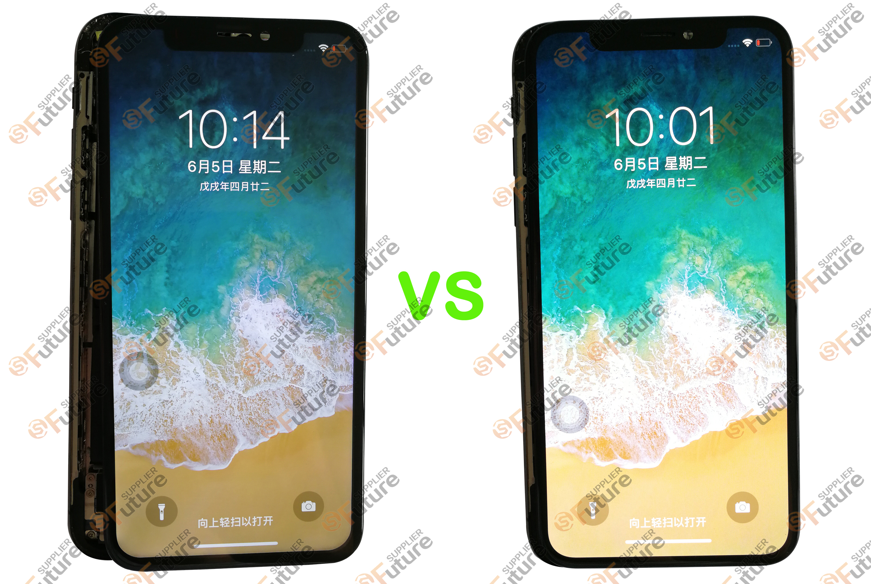 iPhone X LCD VS OLED-1
