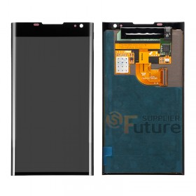 For BlackBerry Priv LCD & Digitizer Assembly - Black - BlackBerry Logo - High Quality