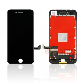 For Apple iPhone 8 LCD & Digitizer Assembly with Frame - Black - High Quality