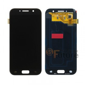 For Samsung Galaxy A5 (2017) SM-A520 LCD & Digitizer Assembly - Black - Samsung Logo - High Quality