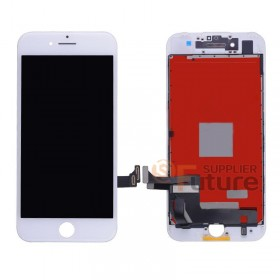 For iPhone 7 Plus LCD & Digitizer Assembly with Frame - White - High Quality