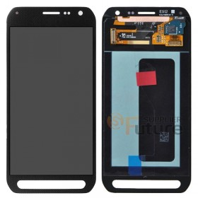(US Free Shipping) For Samsung Galaxy S6 active SM-G890A LCD & Digitizer Assembly - Black - Samsung Logo - High Quality
