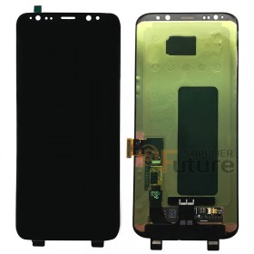 For Samsung Galaxy S8+ G955/G955U/G955A/G955V/G955T/G955P/G955F LCD & Digitizer Assembly - Black - Without Logo - High Quality