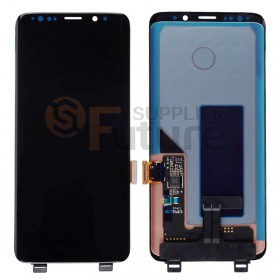 For Samsung Galaxy S9+ G965/G965U/G965F LCD & Digitizer Assembly - Black - Without Any Logo - High Quality