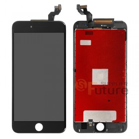 For Apple iPhone 6S Plus LCD & Digitizer Assembly with Frame - Black - High Quality