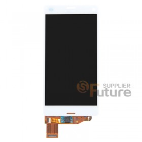 For Sony Xperia Z3 Compact LCD & Digitizer Assembly - White - Sony Logo - High Quality