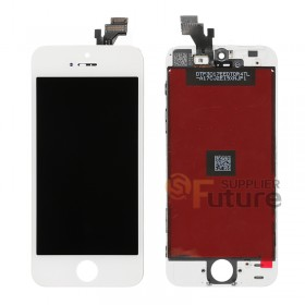 For iPhone 5 LCD & Digitizer Assembly with Frame - White