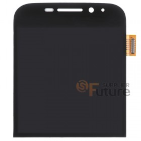 For BlackBerry Classic Q20 LCD & Digitizer Assembly - Black - BlackBerry Logo - High Quality