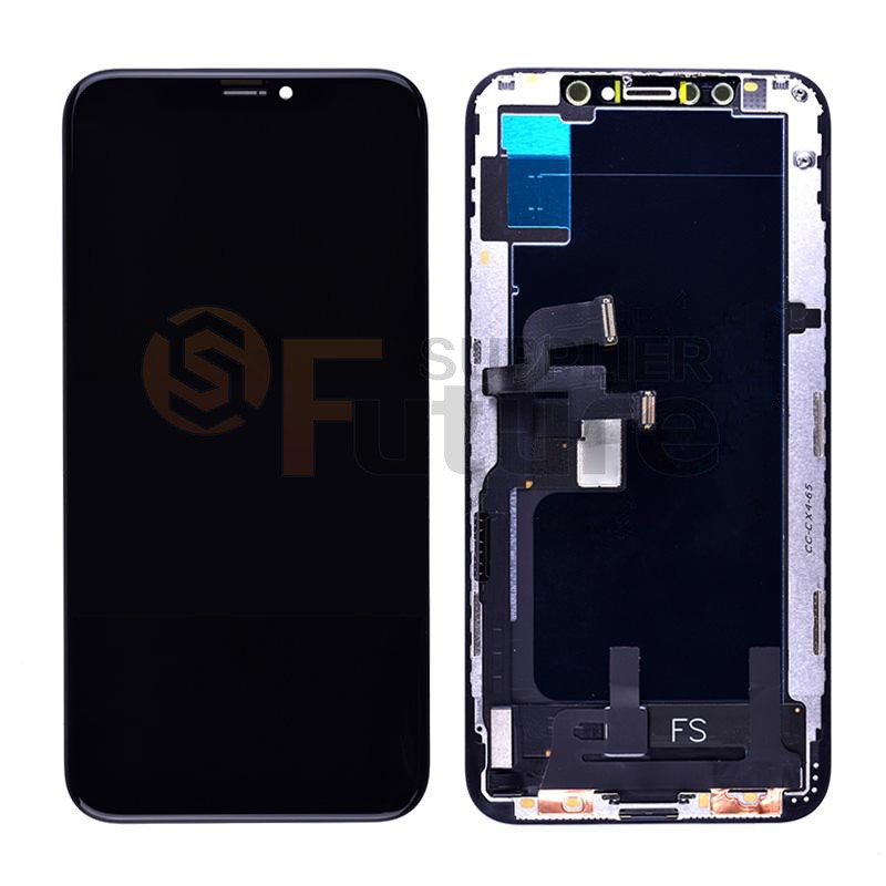 24c5fd820e0 For iPhone XS LCD Screen Digitizer Assembly with Frame - Black - High  Quality