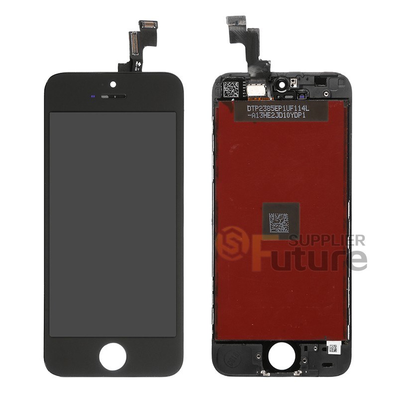 iphone 5s digitizer replacement lcd amp digitizer assembly with frame for apple iphone 5s black 14788