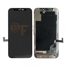 iPhone 12 Mini LCD Screen Digitizer Assembly with Frame Black