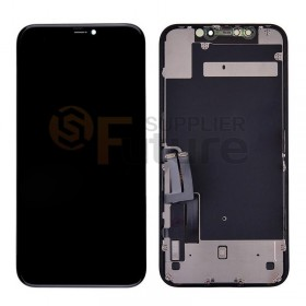 For iPhone 11 LCD Screen Digitizer Assembly with Frame - Black