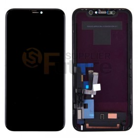For iPhone 11 LCD Screen Digitizer Assembly with Frame - Black - High Quality