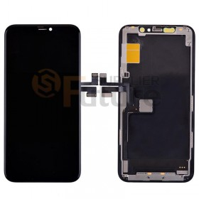For iPhone 11 Pro LCD Screen Digitizer Assembly with Frame - Black - High Quality