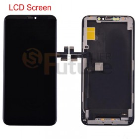 iPhone 11 Pro Max LCD Screen Digitizer Assembly with Frame Black