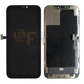 iPhone 12 Pro Max LCD Screen Digitizer Assembly with Frame Black