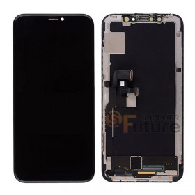 For iPhone X LCD Screen Digitizer Assembly with Frame - Black - High Quality
