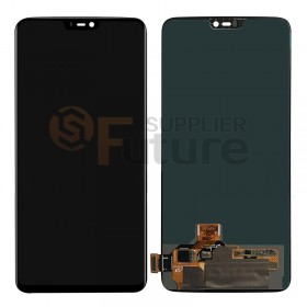 For OnePlus (1+) 6 LCD & Digitizer Assembly - Black - High Quality