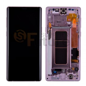 For Samsung Galaxy Note 9 SM-N960/N960U/N960F LCD & Digitizer Assembly with Front Frame - Purple - High Quality
