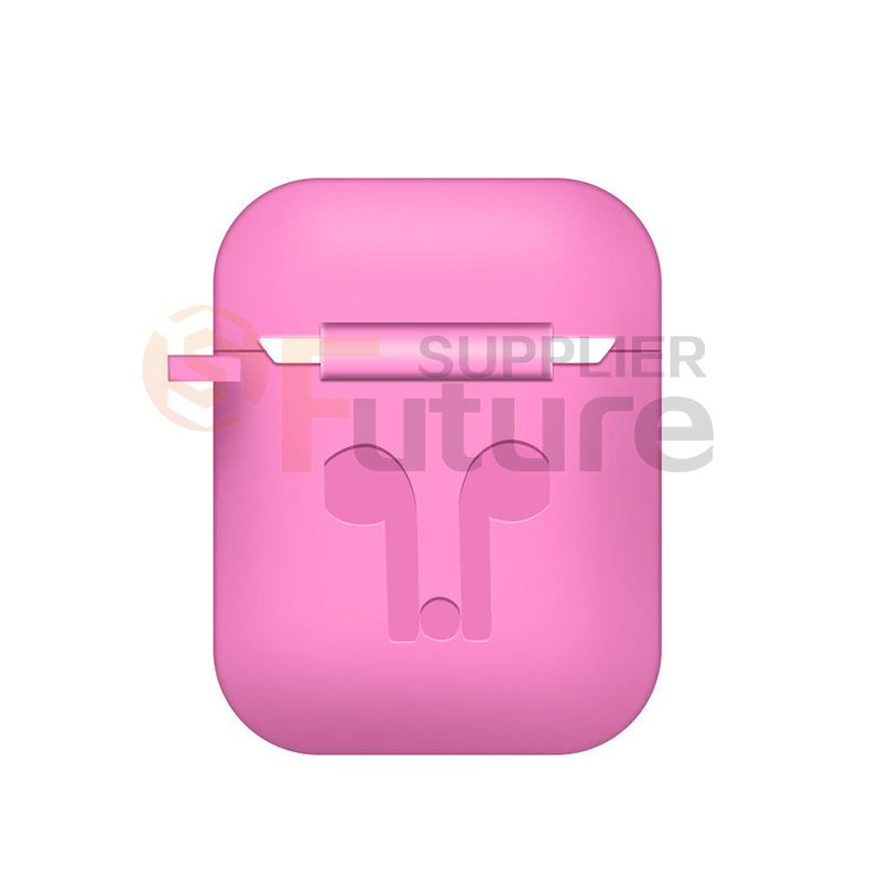 Silicone Airpods Protective Cover Case Slim Skin For Apple